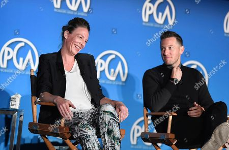 Janet Brown and Matt Kaplan attend the 9th annual Produced By Conference at Twentieth Century Fox on in Los Angeles