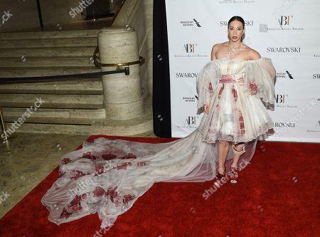 Ballerina Georgina Pazcoguin attends the American Ballet Theatre's 2017 Spring Gala at The Metropolitan Opera House, in New York
