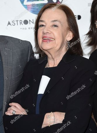 Astronauts Wanted Judy McGrath attends the Astronauts Wanted and Rumble Yard joint NewFront Presentation 2017 at Sony Music Headquarters, in New York