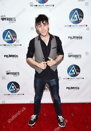 Producer and musician Kurt Hugo Schneider attends the Astronauts Wanted and Rumble Yard joint NewFront Presentation 2017 at Sony Music Headquarters, in New York