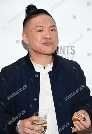 Timothy DeLaGhetto attends the Astronauts Wanted and Rumble Yard joint NewFront Presentation 2017 at Sony Music Headquarters, in New York