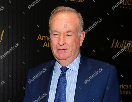 """Bill O'Reilly attends The Hollywood Reporter's """"35 Most Powerful People in Media"""" celebration in New York. Variety reported on May 16, 2017, that O'Reilly announced on his â?oeNo Spin Newsâ?? podcast that he will have a weekly spot on former Fox News colleague Glenn Beckâ?™s radio show"""