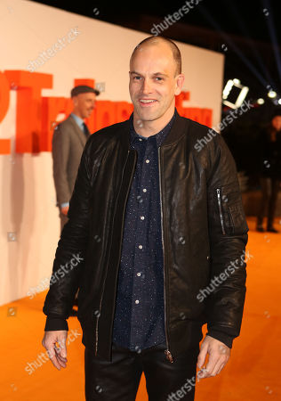 Stock Picture of Actor Johnny Lee Miller poses for photographers upon arrival at the World Premiere of the film 'T2 Trainspotting', in Edinburgh