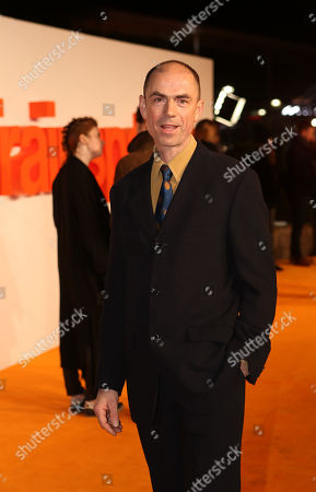John Hodge poses for photographers upon arrival at the World Premiere of the film 'T2 Trainspotting', in Edinburgh