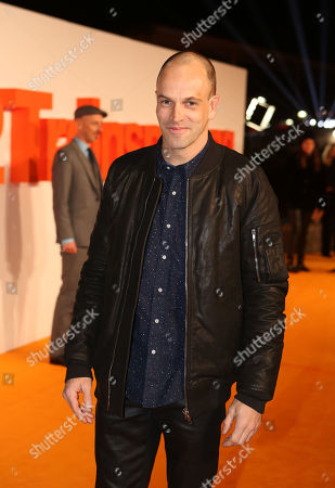 Actor Johnny Lee Miller poses for photographers upon arrival at the World Premiere of the film 'T2 Trainspotting', in Edinburgh