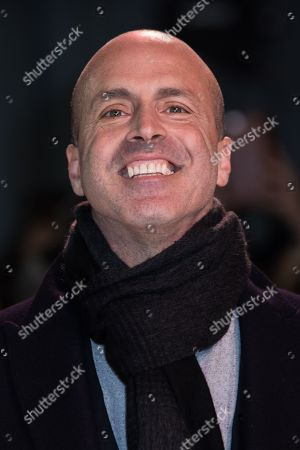 Director DJ Caruso poses for photographers upon arrival at the premiere of the film 'xXx: Return of Xander Cage', in London