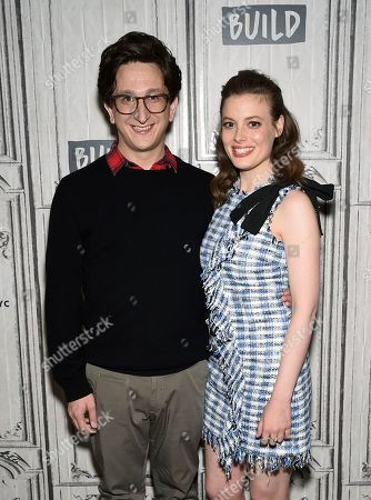 "Actors Paul Rust and Gillian Jacobs participate in the BUILD Speaker Series to discuss the Netflix series ""Love"" at AOL Studios, in New York"