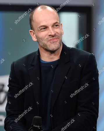 """Actor Jonny Lee Miller participates in the BUILD Speaker Series to discuss the film, """"T2 Trainspotting"""", at AOL Studios, in New York"""