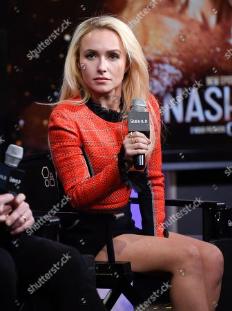 "Actor Hayden Panettiere participates in BUILD Speaker Series to discuss the television series ""Nashville"" at AOL Studios, in New York"