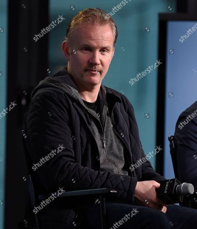 "Filmmaker Morgan Spurlock participate in the BUILD Speaker Series to discuss the film, ""Go North"", at AOL Studios, in New York"