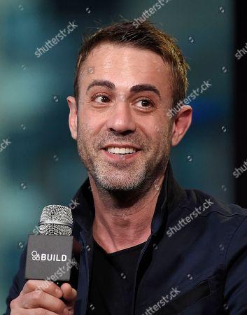 "Filmmaker Matt Ogens participate in the BUILD Speaker Series to discuss the film, ""Go North"", at AOL Studios, in New York"