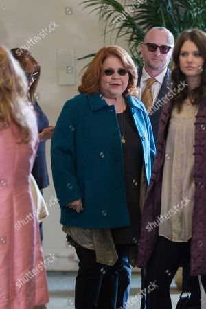 Patrika Darbo arrives at the Carrie Fisher and Debbie Reynolds Memorial Service at The Forest Lawn, in Los Angeles