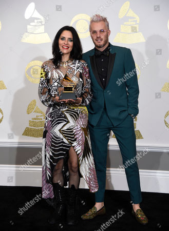 Editorial image of CORRECTION The 59th Annual Grammy Awards - Press Room, Los Angeles, USA - 12 Feb 2017