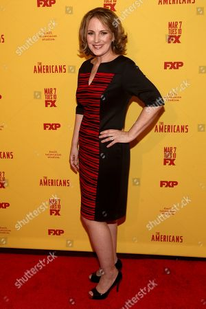 "Amy Tribbey attends FX's ""The Americans"" season five premiere at the DGA Theater, in New York"