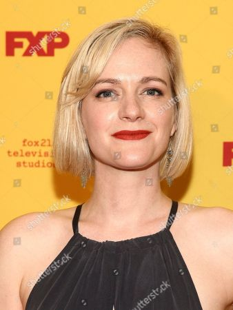 "Stock Image of Suzy Jane Hunt attends FX's ""The Americans"" season five premiere at the DGA Theater, in New York"