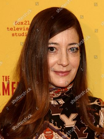 "Clea Lewis attends FX's ""The Americans"" season five premiere at the DGA Theater, in New York"