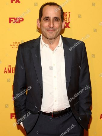 "Peter Jacobson attends FX's ""The Americans"" season five premiere at the DGA Theater, in New York"