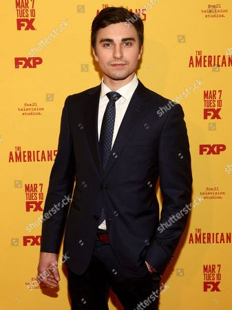 """Stock Image of Alex Ozerov attends FX's """"The Americans"""" season five premiere at the DGA Theater, in New York"""