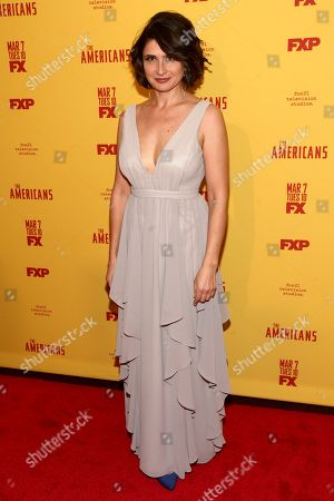 """Stock Image of Vera Cherny attends FX's """"The Americans"""" season five premiere at the DGA Theater, in New York"""