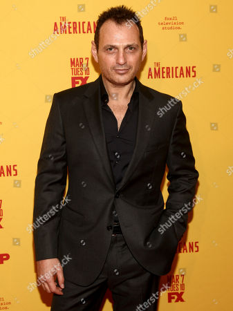 "Lev Gorn attends FX's ""The Americans"" season five premiere at the DGA Theater, in New York"