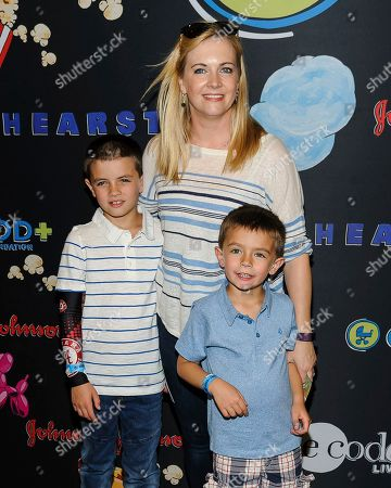 Stock Picture of Braydon Hart Wilkerson, from left, Melissa Joan Hart, and Tucker Wilderson attend the GOOD+ Foundation 2017 Benefit Bash at Victorian Gardens at Wollman Rink in Central Park on Wednesday, May 31, in New York