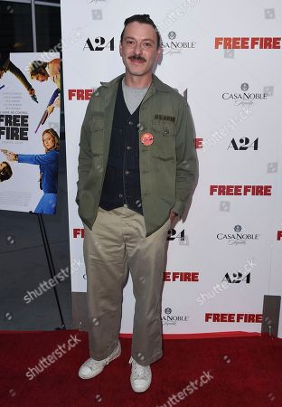 "Enzo Cilenti arrives at the Los Angeles premiere of ""Free Fire"" at ArcLight Hollywood on"
