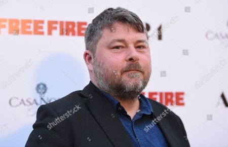 """Director Ben Wheatley arrives at the Los Angeles premiere of """"Free Fire"""" at ArcLight Hollywood on"""