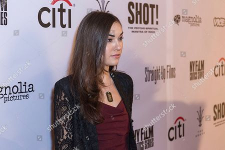 "Sasha Grey arrives at the LA Premiere of ""SHOT! The Psycho-Spiritual Mantra of Rock"" at the Pacific Theatres at The Grove, in Los Angeles"
