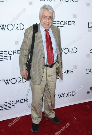 "Philip Baker Hall arrives at the Los Angeles premiere of ""The Last Word"" on in Los Angeles"