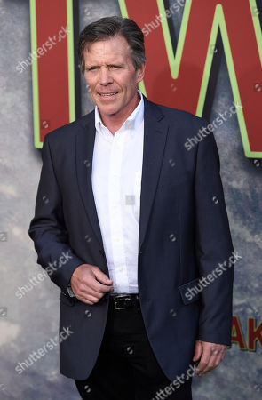 """Grant Goodeve, a cast member in """"Twin Peaks,"""" poses at the premiere of the Showtime series at The Theatre at Ace Hotel, in Los Angeles"""