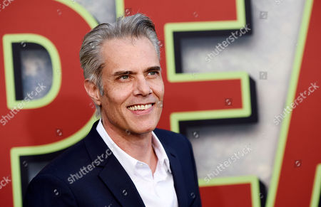 """Dana Ashbrook, a cast member in """"Twin Peaks,"""" poses with her husband Thomas Sadoski at the premiere of the Showtime series at The Theatre at Ace Hotel, in Los Angeles"""