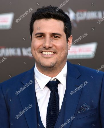"Director Dean Israelite arrives at the Los Angeles premiere of Saban's ""Power Rangers"" at the Regency Westwood Village Theatre on"