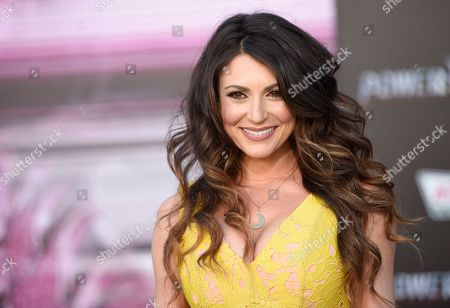 "Cerina Vincent arrives at the Los Angeles premiere of Saban's ""Power Rangers"" at the Regency Westwood Village Theatre on"