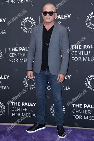 "Dominic Purcell attends the Los Angeles special screening of ""Prison Break"" Season Five, in Beverly Hills, Calif"