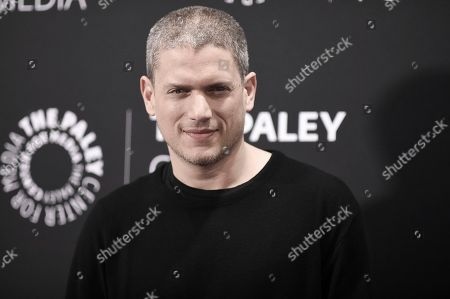 """Stock Image of Wentworth Miller attends the Los Angeles special screening of """"Prison Break"""" Season Five, in Beverly Hills, Calif"""