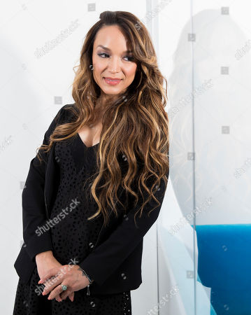 """Mayte Garcia, first wife of the late pop singer Prince, poses for a portrait in New York to promote her book, """"The Most Beautiful: My Life with Prince"""