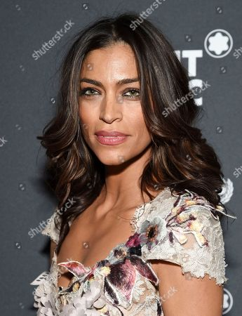 Touriya Haoud attends the Montblanc for UNICEF Collection launch event at the New York Public Library, in New York