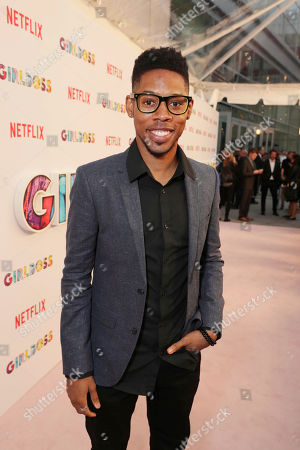 Alphonso McAuley seen at Netflix 'Girlboss' Premiere at ArcLight Hollywood on Monday, April 17th, 2017, in Los Angeles, CA