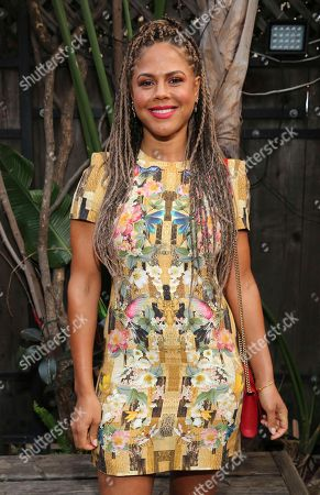 "Lenora Crichlow seen at Netflix ""Flaked"" Season 2 special screening at Cinefamily, in West Hollywood, CA"