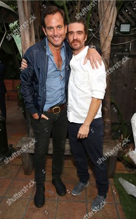 "Will Arnett and George Basil seen at Netflix ""Flaked"" Season 2 special screening at Cinefamily, in West Hollywood, CA"