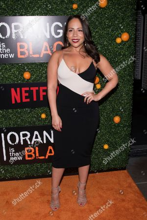 """Rosal Colon attends Netflix's """"Orange Is the New Black"""" season five premiere event at Catch, in New York"""