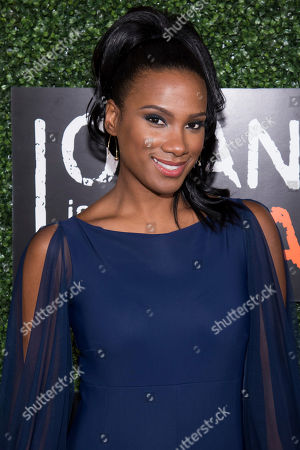 """Vicky Jeudy attends Netflix's """"Orange Is the New Black"""" season five premiere event at Catch, in New York"""