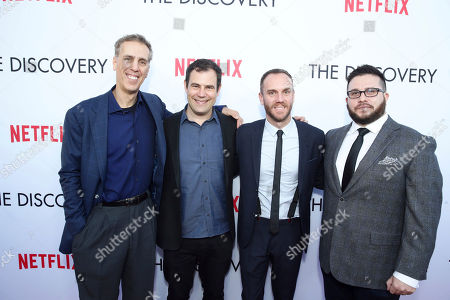 Editorial photo of Netflix's The Discovery Premiere, Los Angeles, USA - 29 Mar 2017