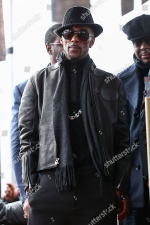 Ralph Tresvant attends a ceremony honoring New Edition with a star on the Hollywood Walk of Fame, in Los Angeles