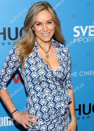 "Stock Photo of Laura-Frerer Schmidt attends a ""Baywatch"" screening, hosted by The Cinema Society and Hugo by Hugo Boss, at Landmark Sunshine Cinema, in New York"