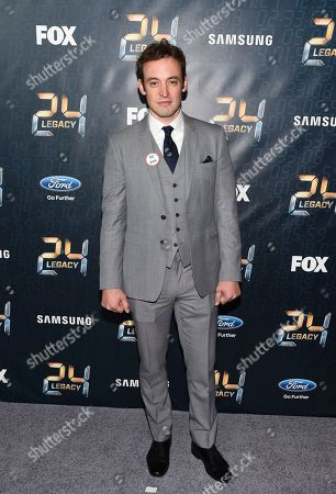 "Actor Charlie Hofheimer attends the season premiere of ""24: Legacy"" at Spring Studios, in New York"