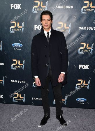 """Stock Image of Actor Raphael Acloque attends the season premiere of """"24: Legacy"""" at Spring Studios, in New York"""