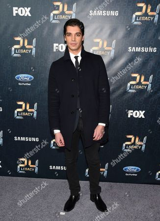 """Actor Raphael Acloque attends the season premiere of """"24: Legacy"""" at Spring Studios, in New York"""