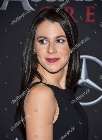 """Victoria Atkin attends a special screening of """"Assassin's Creed"""" at AMC Empire 25, in New York"""
