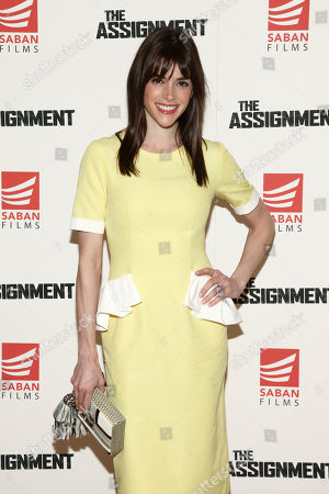 """Margaret Anne Florence attends a special screening of """"The Assignment"""" at The Whitby Hotel, in New York"""